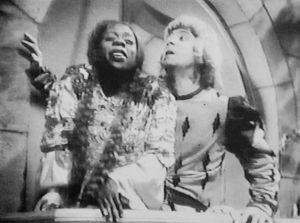 Com Oscarito em 'Carnaval no Fogo' (1950)